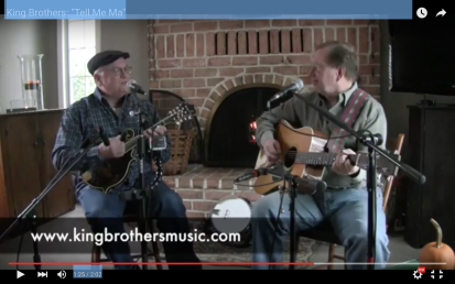 "The King Brothers (Irish Music) sing ""Tell Me Ma"""